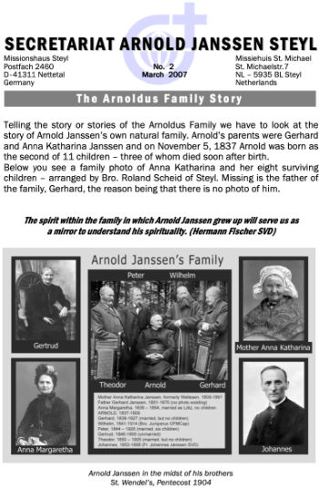 cover es The Arnoldus Family Story, Vol.1, No.2