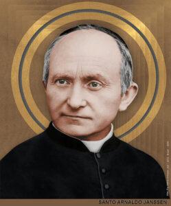 Saint Arnold Janssen portrait