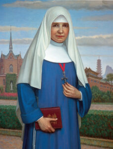 Painting of Mother Maria