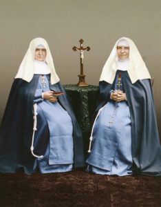 Mother Maria and Mother Josepha together (photo montage)