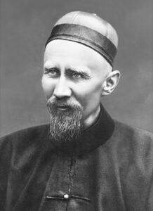 Portrait of Joseph Freinademetz in China