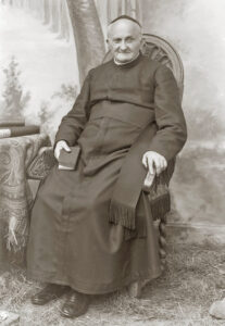Portrait of Arnold Janssen (brown)