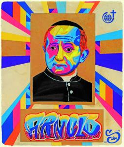 Arnold Janssen art grafitte