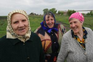 3 Russian women