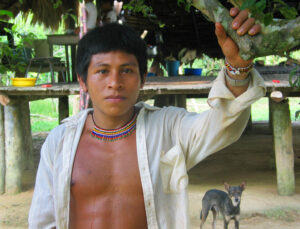 Native Boy - in Colombia