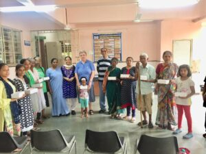Feed the Hungry - Collaboration with SSpS - Superior General (SSpS) and Sr. Jessie Mary from Holy Spirit Community Centre, Mumbai