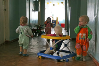 Children in Irkutsk
