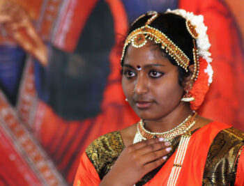 Indian Woman at the Bible Day in Steyl