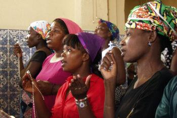 Praying Women in Angola