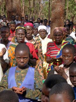 People Praying in Tanzania