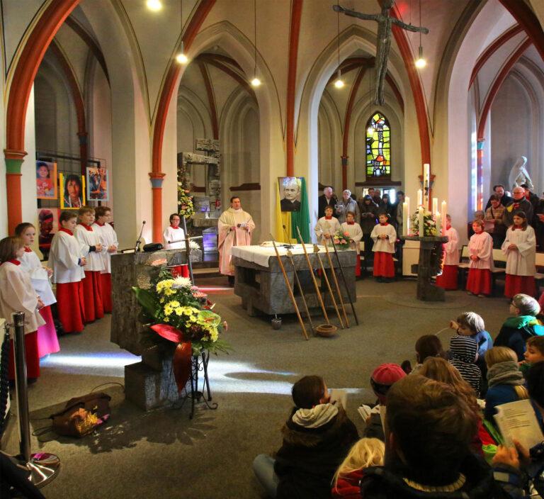 Mass in Steyl