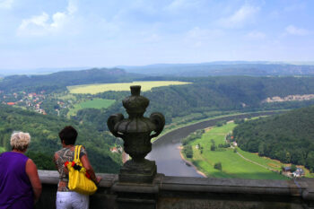 View of the Elbe River