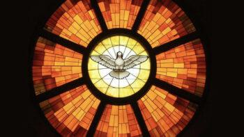 Holy Spirit, Stein Glass