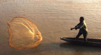 Trowing the Net - Fishing