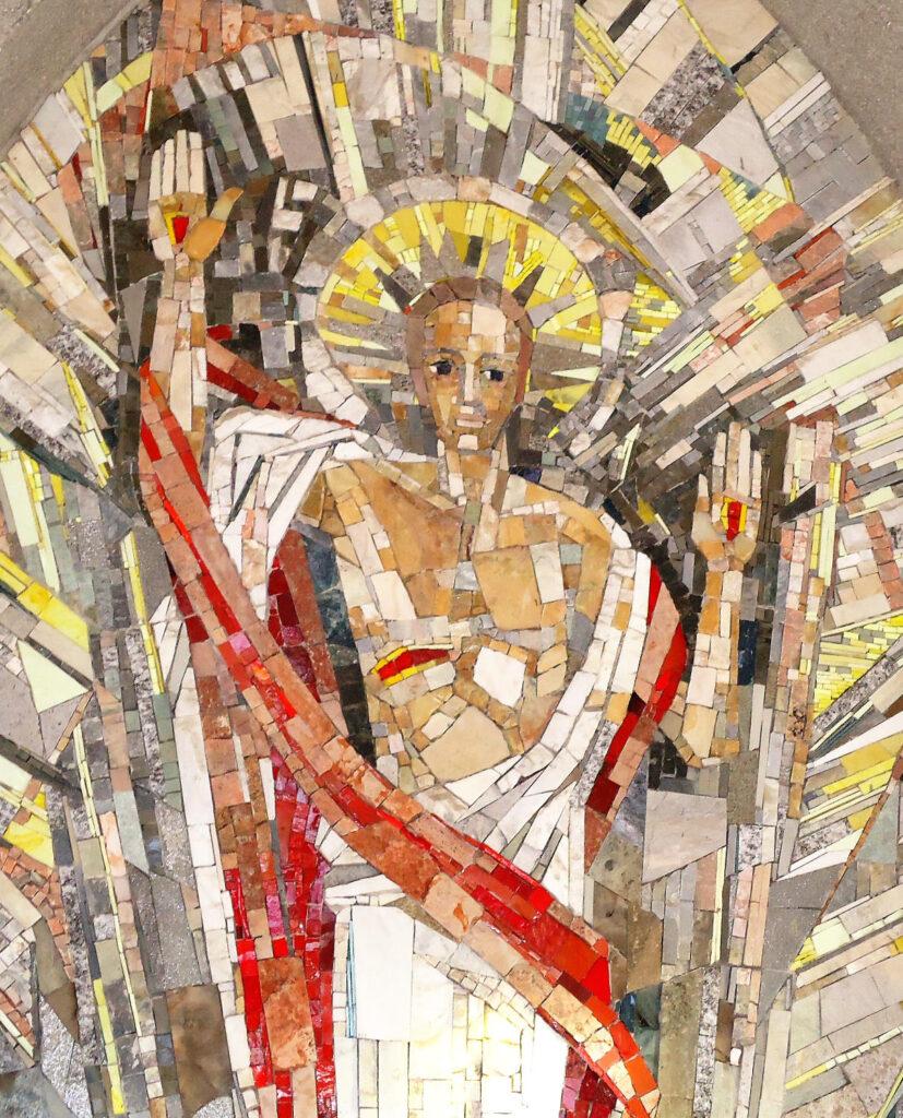 Mosaic of the Risen Jesus, SVD Cemetery Steyl