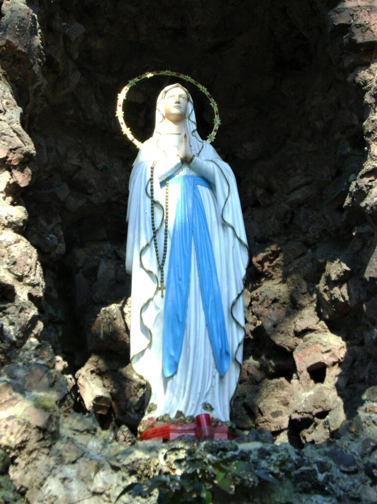 Statue of Our Lady of Lourdes, SVD Garden in Steyl