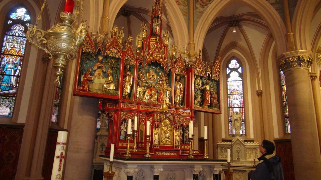 Altarpiece of the High Church, Saint Michael, Steyl