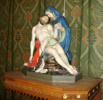 Image of Our Lady of Sorrows with dead Jesus, St Michael, Steyl