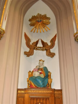 Image of Our Lady Queen, Upper Church, St Michael