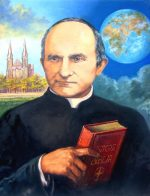 Painting of Arnold Janssen for canonization