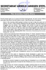 The Arnoldus Family Story, Vol.1, No.3